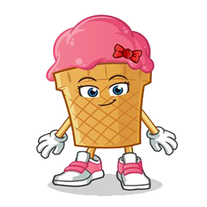 Happy Ice Cream messages sticker-3