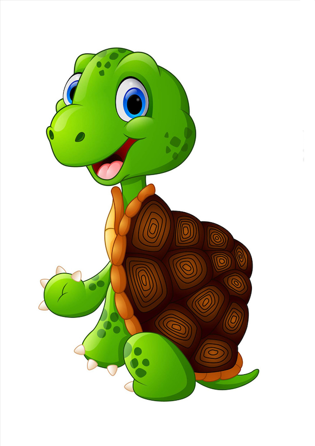 Little Turtle Life messages sticker-1
