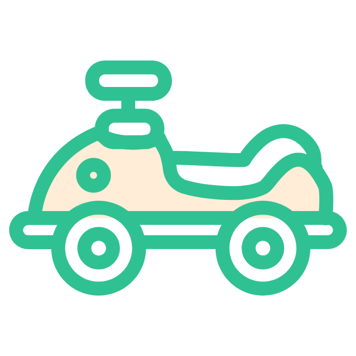 Fun toy car messages sticker-0