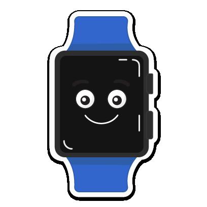 Buddywatch - Watch Faces messages sticker-3