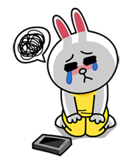 Emojis with sad tears messages sticker-3