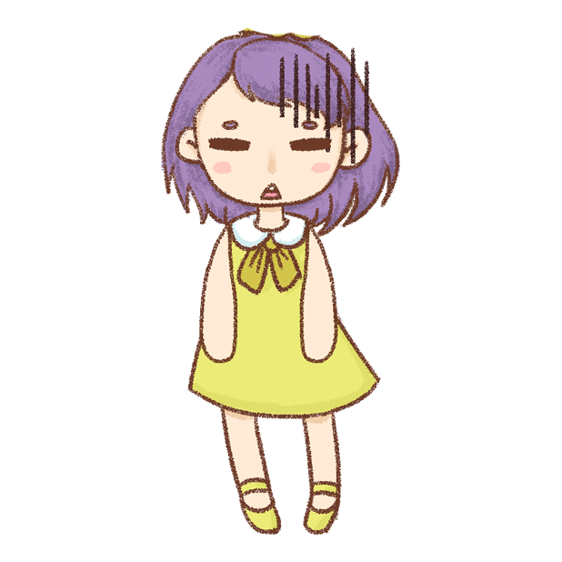 紫发丫吖 messages sticker-9