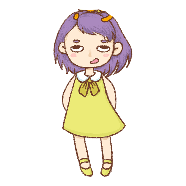 紫发丫吖 messages sticker-1