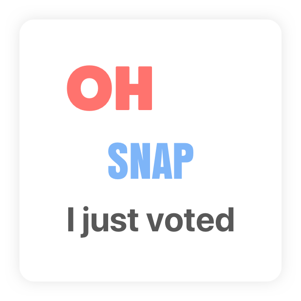 Election Chat Stickers messages sticker-7