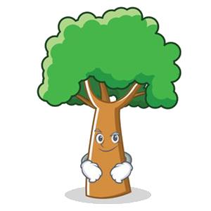 Happy Big Tree Sticker messages sticker-2