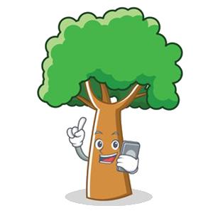 Happy Big Tree Sticker messages sticker-0