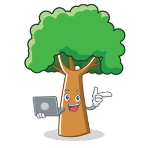 Happy Big Tree Sticker messages sticker-10