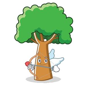 Happy Big Tree Sticker messages sticker-9