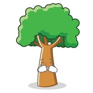 Happy Big Tree Sticker messages sticker-11