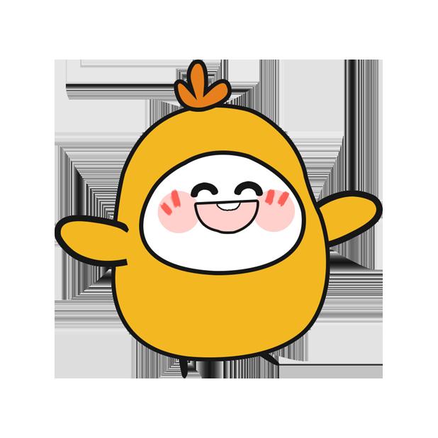 鸡蛋黄 messages sticker-2