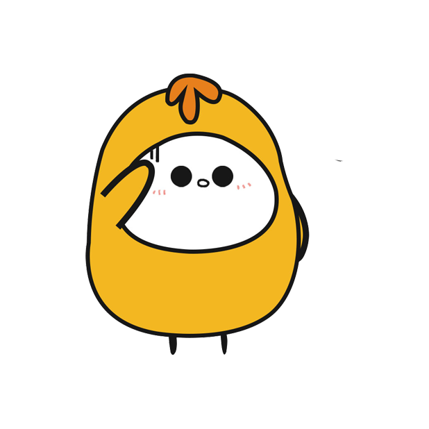 鸡蛋黄 messages sticker-4