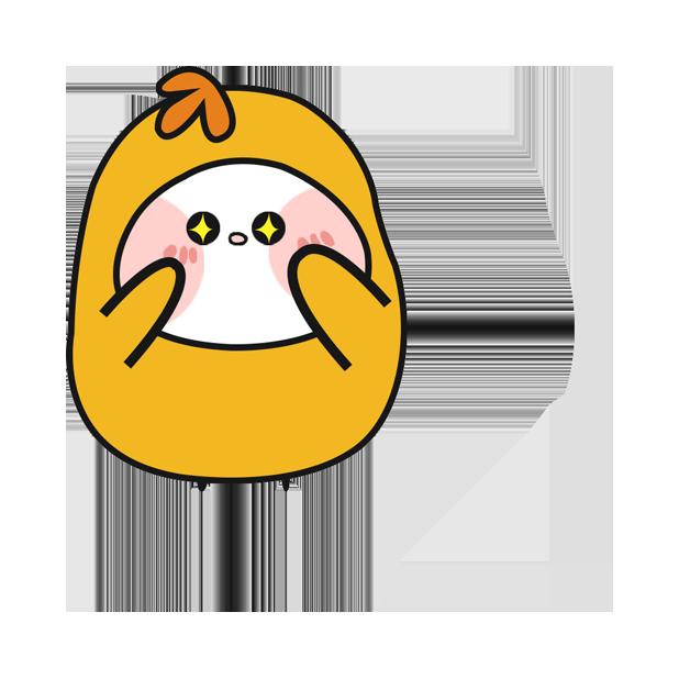鸡蛋黄 messages sticker-10