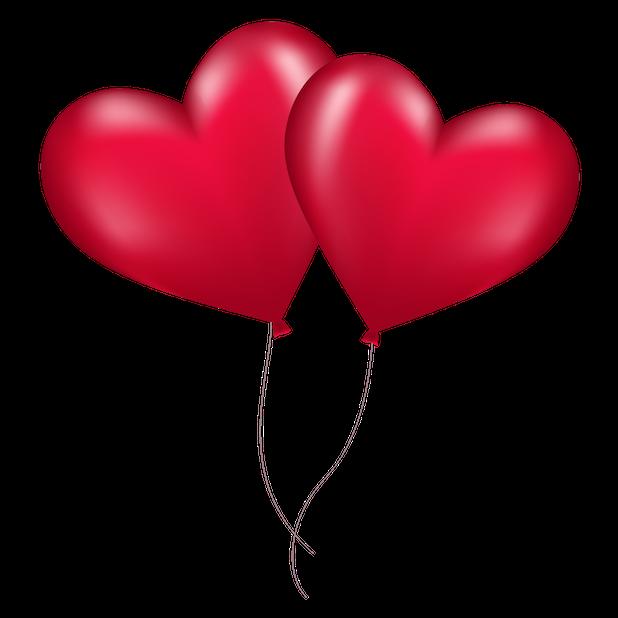 Heart Balloon messages sticker-1