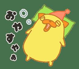 Mr. Oji_san Stickers messages sticker-4