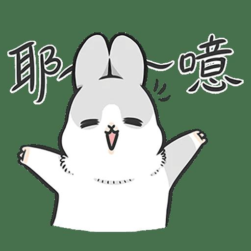 Machiko Rabbit Pack# 4 messages sticker-0