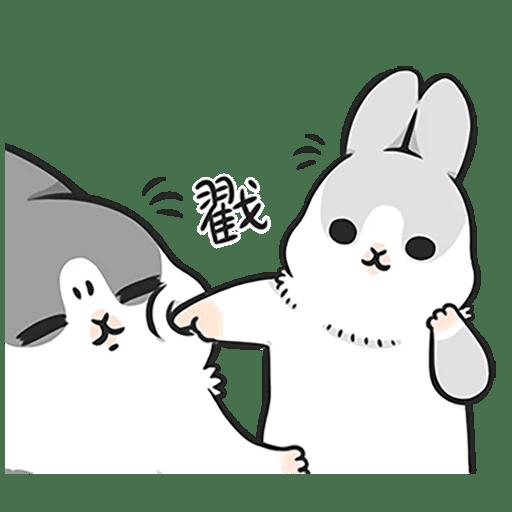 Machiko Rabbit Pack# 4 messages sticker-6