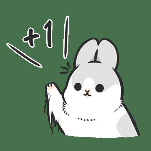 Machiko Rabbit Pack# 4 messages sticker-8