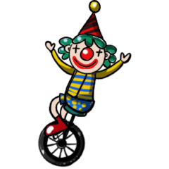 Happy Circus-Family messages sticker-2