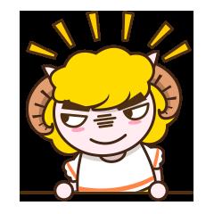 Sheep Jamie messages sticker-8