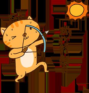 Cheoekyigmouthcat sticker messages sticker-9