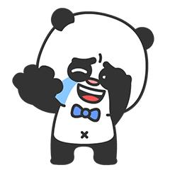 Arrogant Panda messages sticker-10