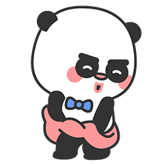 Arrogant Panda messages sticker-5