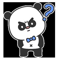 Arrogant Panda messages sticker-1