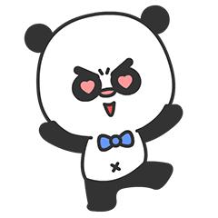 Arrogant Panda messages sticker-11