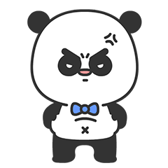 Arrogant Panda messages sticker-8