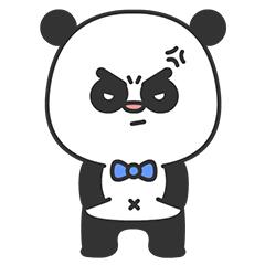 Arrogant Panda messages sticker-3
