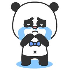 Arrogant Panda messages sticker-9