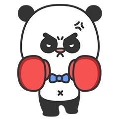 Arrogant Panda messages sticker-6