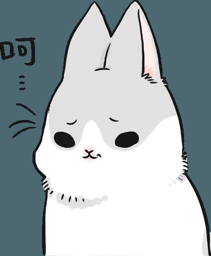 Machiko Rabbit Pack# 5 messages sticker-10