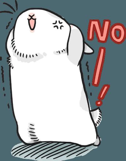 Machiko Rabbit Pack# 5 messages sticker-5