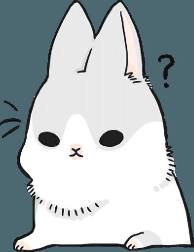 Machiko Rabbit Pack# 5 messages sticker-11