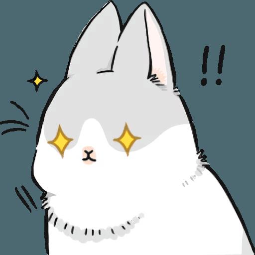 Machiko Rabbit Pack# 5 messages sticker-9