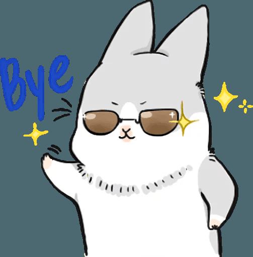 Machiko Rabbit Pack# 5 messages sticker-8
