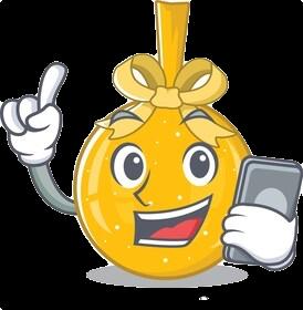 Mini yo yo sticker messages sticker-6