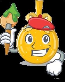 Mini yo yo sticker messages sticker-7