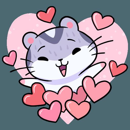 Cute Hammy messages sticker-4