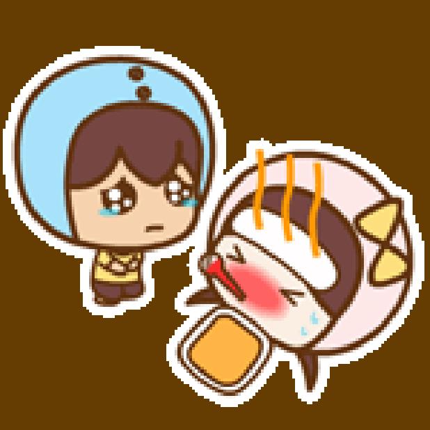 帽帽妹 messages sticker-1