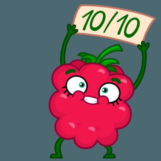 Razzberry Flavor messages sticker-6