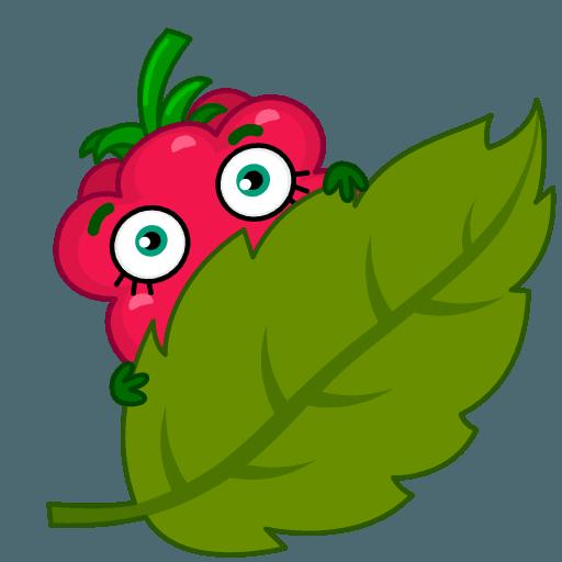 Razzberry Flavor messages sticker-8