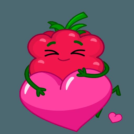 Razzberry Flavor messages sticker-7