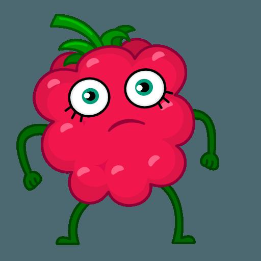 Razzberry Flavor messages sticker-9