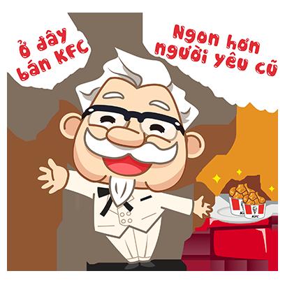 KFC Việt Nam Stickers 2020 messages sticker-11
