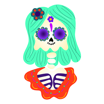 The Day Of The Dead Stickers messages sticker-0