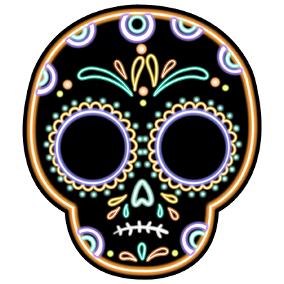 The Day Of The Dead Stickers messages sticker-3