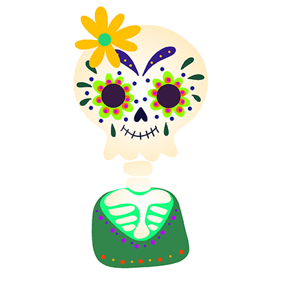 The Day Of The Dead Stickers messages sticker-5