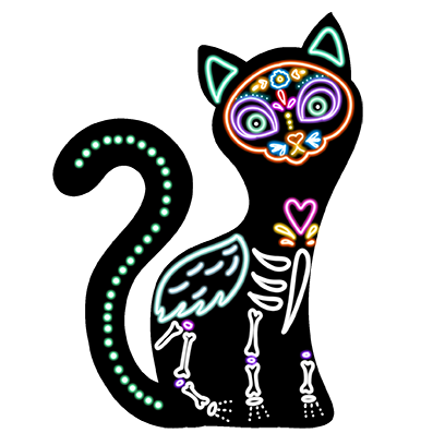 The Day Of The Dead Stickers messages sticker-9